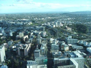 Filming in New Zealand means a huge diversity of landscapes including city backdrops such as Auckland in the North Island