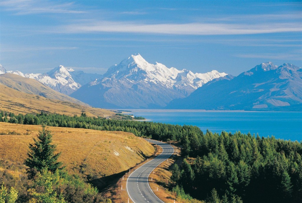 Magnificent scenery for movies - South Island, New Zealand